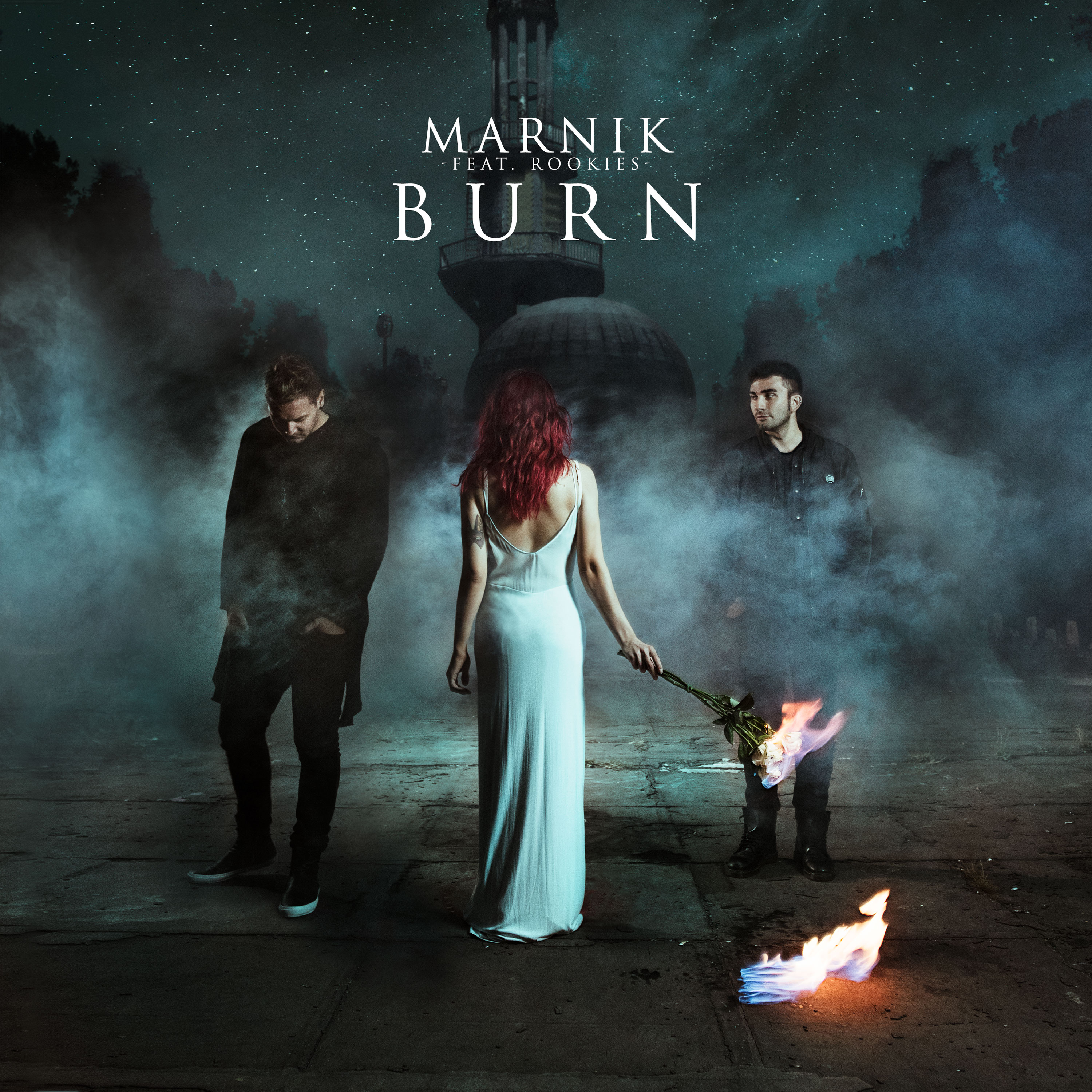 Marnik feat. Rookies - Burn (cover artwork)